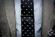 MenStyle1- Men's Style Blog - Men's Tie Bar/Clip Inspiration: The tie bar is a...
