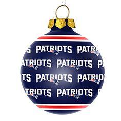New England Patriots LED Ball Christmas Ornament | 2015 Ornaments ...