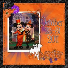 MNSSHP Cover - MouseScrappers - Disney Scrapbooking Gallery