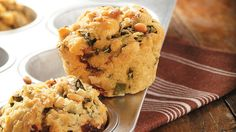 These savory muffins add an extra-special element to a holiday