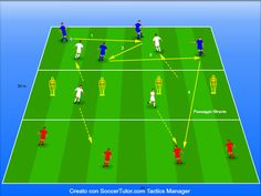 Fun Soccer Drills, Football Training Drills, Soccer Workouts, Soccer Coaching, Barcelona, Soccer Practice, Workout Exercises, Soccer Drills, Sports