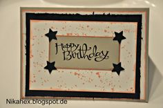 Nikas Hexerei:Stampin' Up! Geburtstagskarte - Ich habe mich in{k}spirieren lassen...