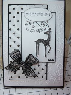 Christmas card-SU.  Like the design, could work for any number of occasions with other stamps.