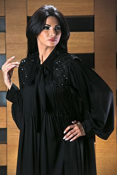 d8c8ab400 3abaya by Trio Couture New Abaya Design, Abaya Designs, Orientation Outfit, Black  Abaya