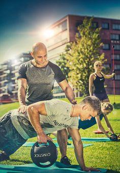 Sport in der Hafenctiy Hamburg  mit Personal Training A.G.