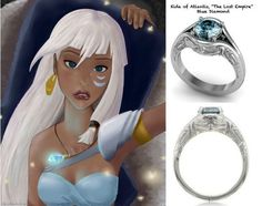 Rings Which Disney Engagement Ring Are You? - Part 5 Which Disney Engagement Ring Are You? - Part 5 Disney Engagement Rings, Disney Wedding Rings, Princess Kida, Princess Rings, Disney Jewelry, Princesas Disney, Disney Inspired, Disney Love, Disney Pixar