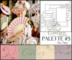 Color Combo Inspiration on this website; great for cards and layouts