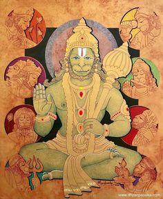 Hanuman Photos, Hanuman Images, Lord Krishna Images, Shiva Art, Krishna Art, Hindu Art, Radhe Krishna, Durga Painting, Lord Hanuman Wallpapers