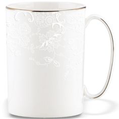 Marchesa Porcelain Lace Mug By Lenox