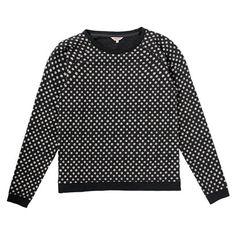 Black star sweatshirt