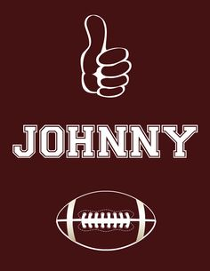Gig 'Em Johnny Football KNIT Tee. $22.00, via Etsy.