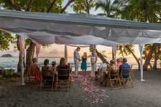Photo Blog of a Sunset Beach Wedding at Discovery Beach House in Manuel Antonio Costa Rica by John Williamson Wedding Photography