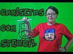 Você Não Sabia - Estampar Camisetas com Stencil