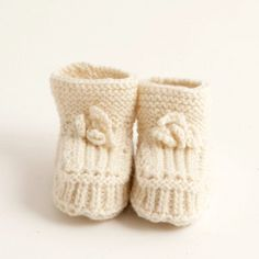 BABY WOOL KNITTED SHOES