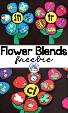 Help kids work on the l, r and s blends with these fun Flower Blends Match-Up printables. :: www.thriftyhomeschoolers.com