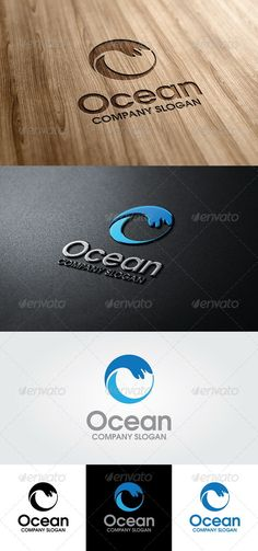 Ocean Logo Template - GraphicRiver Item for Sale