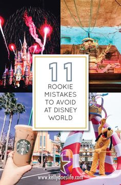Are you planning a trip to Walt Disney World and looking for all the secret tips and tricks? Check out these 11 rookie mistakes to avoid to save money, help with dining, packing, and more! Disney World Secrets, Disneyland Secrets, Disney World Parks, Disney World Tips And Tricks, Disney Tips, Disneyland Nails, Disney World Vacation Planning, Walt Disney World Vacations, Disney Planning