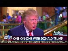 """Judge Jeanine Pirro - One-On-One With Donald Trump =========================================== **Please Click Below to SUBSCRIBE for More """"MTP"""" Videos: ht..."""