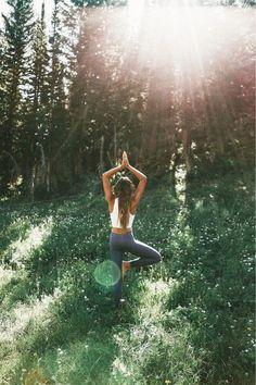 enjoy nature yogi style