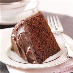 Old-Fashioned Fudge Cake