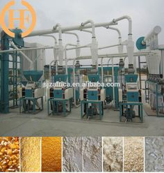 30 ton per day maize milling machine...