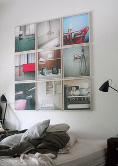 I would do this downstairs just replace the pictures with sports stuff for the man cave