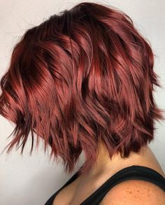 30 Best Dark Red Hair Color Ideas (2021 Pictures)
