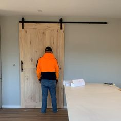 Aubarndoor offers a huge range of barn doors, and barn door hardware. We are Australian owned sliding barn door supplier with warehouse in Melbourne. Internal Sliding Doors, Barn Style Sliding Doors, Sliding Barn Door Hardware, Diy Sliding Door, Building A Barn Door, Diy Barn Door, Bedroom Barn Door, House Slide, Barn Door Designs
