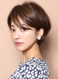 ☆手で乾かすだけ☆大人マニッシュショート|髪型・ヘアスタイル・ヘアカタログ|ビューティーナビ