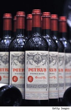 chateau petrus of pomerol, right bank of the Garonne, Bordeaux via The Wine Bottle Wine And Liquor, Wine And Beer, Wine Drinks, Grapes And Cheese, Wine Vineyards, Bordeaux Wine, French Wine, Vintage Wine, Italian Wine