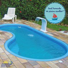 Quando for escolher a sua piscina, pense no espaço que a sua casa dispõe, no valor que está disposto a investir e no tamanho da sua família! E Se preferir, peça ajuda para a gente, nós podemos te ajudar a escolher o tamanho ideal e o modelo que lhe agrada! Depois é só #MergulhardecabeçanoVerão ;)