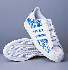 Adidas Superstar Graffiti Shoes