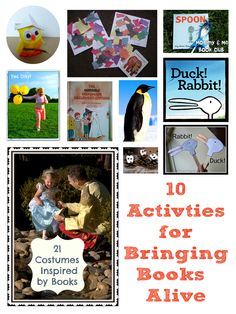 10 Activities for bringing books alive