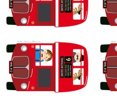 Bus fabric by hamburgerliebe on Spoonflower - custom fabric