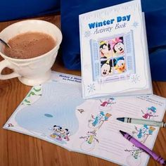 Disney Family Free Mickey & Friends Printable Winter Day Activity Book