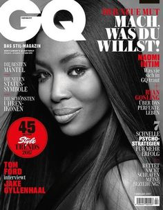 Fashion fan blog from industry supermodels: Naomi Campbell's Nude in Sizzling Hot Cover Story ...