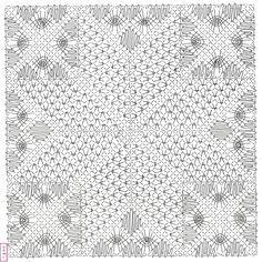 """Nous avions fait ce modèle """"patch"""" de Dominique en ouvrage collectif, il y a quelques années. Il est en fond de l'en-tête de notre blog ... Bobbin Lace Patterns, Quilts, Blanket, Dominique, New York, Blog, Beautiful, Farmhouse Rugs, Lace"""