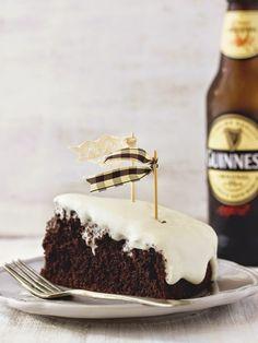 Glitter News: Guinness Cake