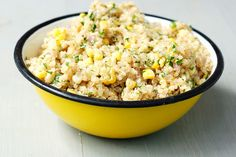 Quinoa, sweet corn, lime, and jalapeno salad (by Eve Fox, Garden of Eating blog, copyright 2012 by Eve Fox via Flickr).