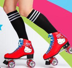Rollin' the Hello Kitty way