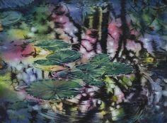 2014《彩夢Colorful Dream》28x38cm painting by Kuo,Hsin-i (私人收藏Private collection)