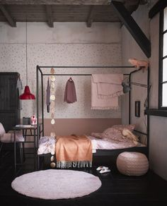 Single Black Metal Four Poster Bed by Woood Black-Four-Poster-Single-Bed-Frame. Single Black Metal Four Poster Bed by Woood Black-Four-Poster-Single-Bed-Frame. Dream Bedroom, Home Decor Bedroom, Girls Bedroom, Kids Single Beds, Big Bedrooms, Four Poster Bed, Poster Beds, Lit Simple, My New Room
