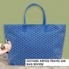 Goyard introduces a new size of the Artois Bag and immediately categorize it as a Travel Bag. Meet the Goyard Artois Goyard Bag, Tote Bag, Travel Bag, Bags, Fashion, Handbags, Moda, Fashion Styles, Totes
