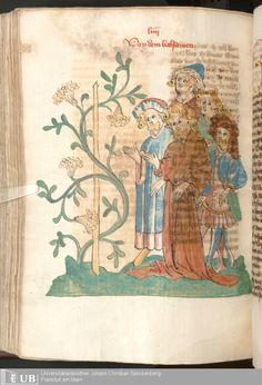 510 [253v] - Ms. Carm. 1 (Ausst. 47) - Das Buch der Natur - Page - Mittelalterliche Handschriften - Digitale Sammlungen  Hagenau, [um 1440]