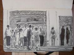 Moleskine #165 graphite pencil drawing