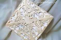 zaproszenia ślubne koronkowe, wedding invitations