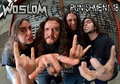 "WOSLOM: Worldwide release via Punishment 18 – Metal Media – Following the final preparations for the release of the widely anticipated new album, the third of career, WOSLOM announce that the Italian label Punishment 18 will be responsible for releasing worldwide. ""Punishment 18 is already our partner for about two years. They bet to launch our first two albums in 2014. And now we are very..."