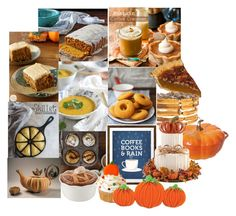 Fall sweet tooth by nickycat on Polyvore featuring polyvore, interior, interiors, interior design, home, home decor, interior decorating, Nancy Y. Adams, Retrò, Staub and JCPenney Home