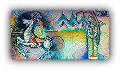 A WANDERING KNIGHT IN MILAN – The extraordinary journey by Vassily Kandinsky - Meeting Benches