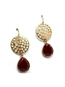 Style Tryst Circle Disc & Drop Earrings